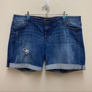 Kut from the Kloth Boyfriend Shorts